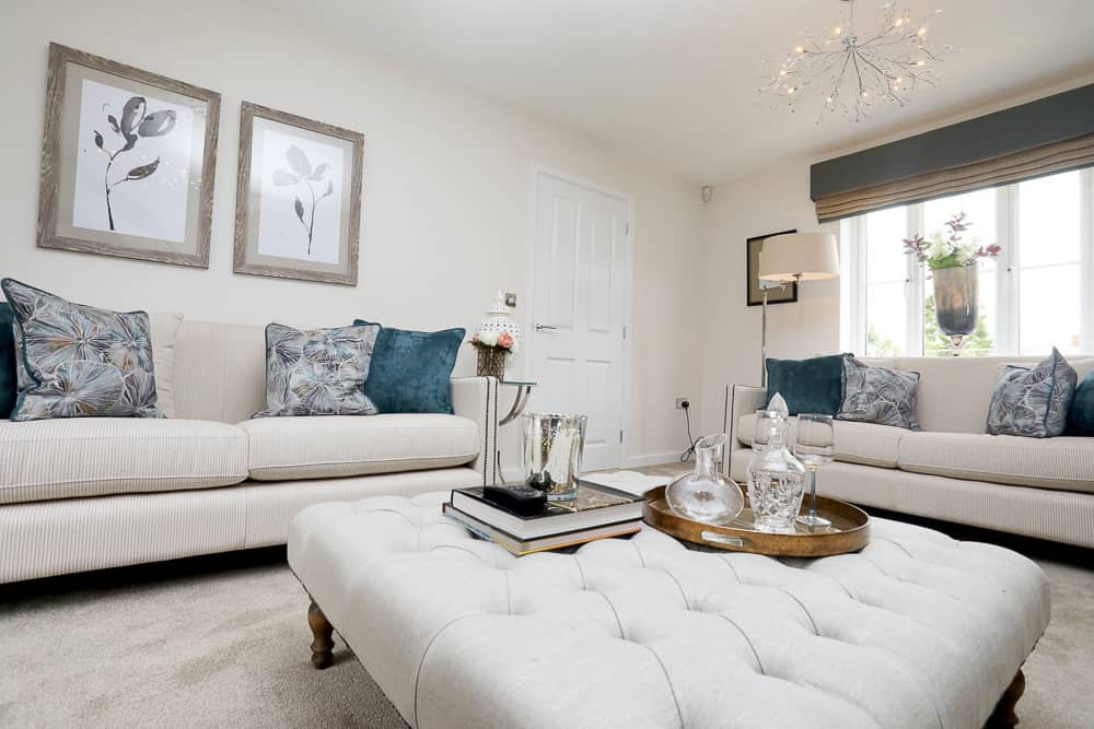 Client, Kier Living Eastern, show-home photography of Farrendon Court, Aston Clinton, Buckinghamshire.